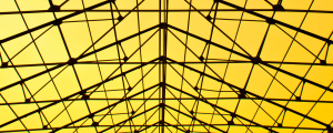 Yellow Ceiling Banner